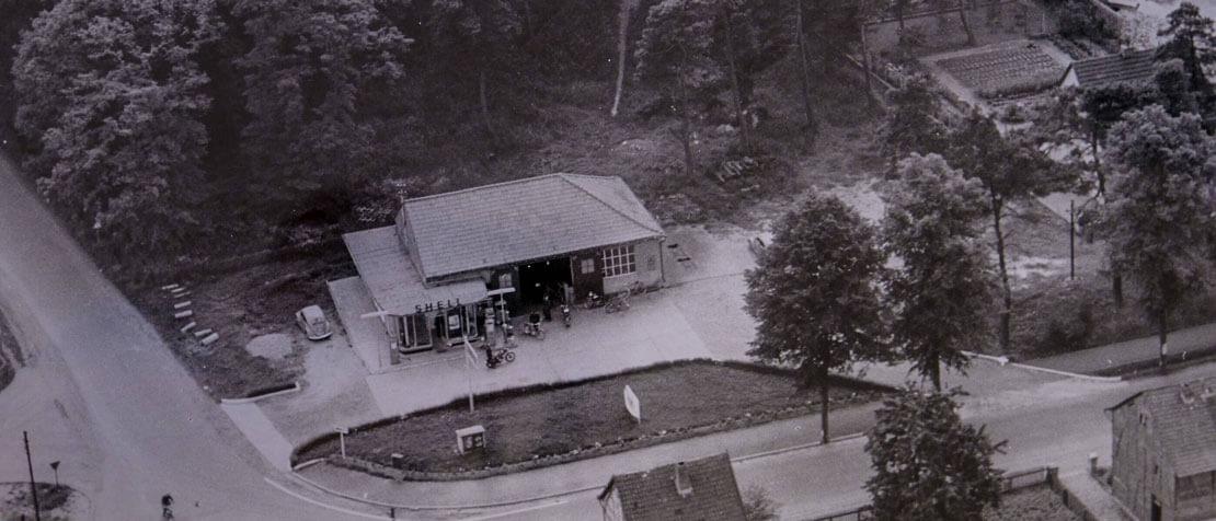 Historische Aufnahme des Standorts in Mechernich