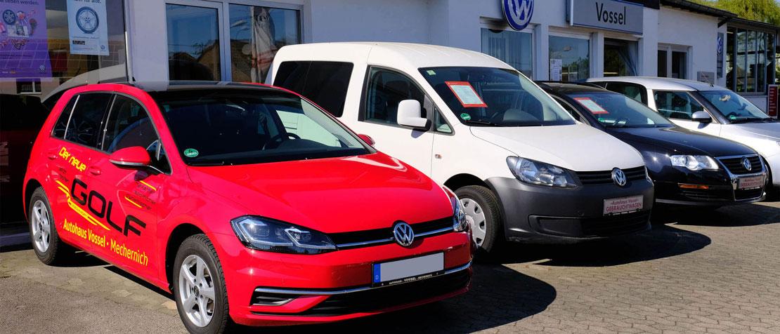 Gebrauchtwagen - Autohaus Vossel