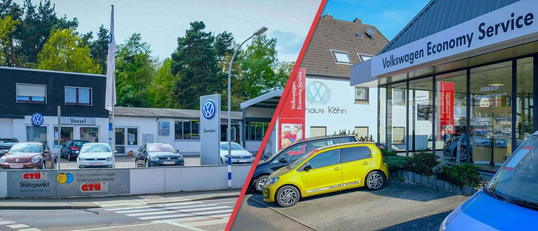 Collage der beiden Standorte in Mechernich und Gemünd